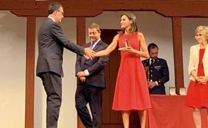 La reina Letizia premia a la ciudad de Murcia por su plan de accesibilidad