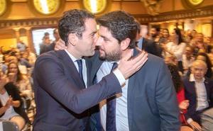 El PP no volverá a proponer a López Miras hasta tener todos los apoyos para la investidura