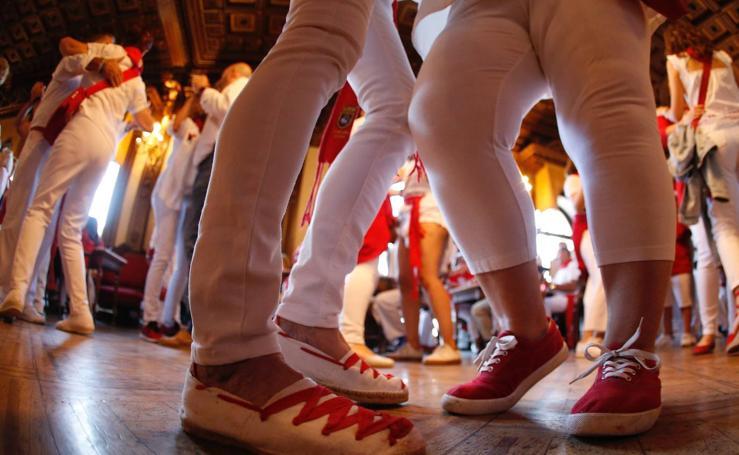 El 'Baile de la Alpargata'