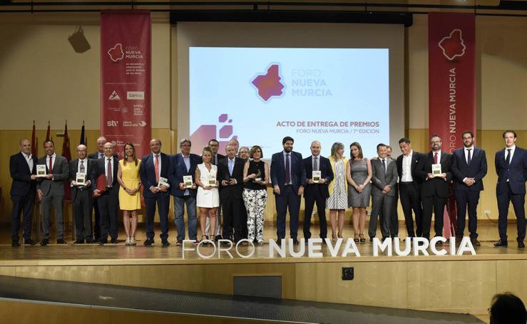 Gala de los VII Premios del Foro Nueva Murcia