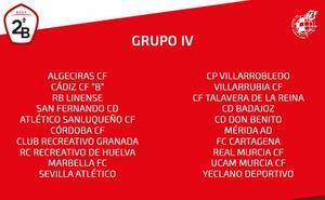 Los equipos murcianos ya conocen a sus rivales en el Grupo IV de Segunda B