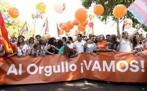 Cs pide a la Asamblea Regional que condene la «violencia» sufrida durante el Orgullo en Madrid