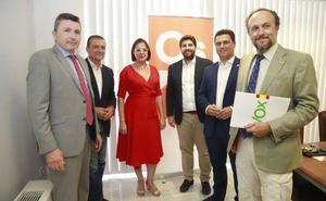 PP, Ciudadanos y Vox dan otro paso de cara al acuerdo de investidura en la Región