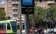Los termómetros de la Región superarán los 40 grados este viernes
