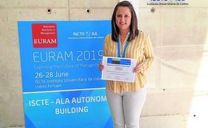 Premio al mejor trabajo en un congreso internacional de 'management'