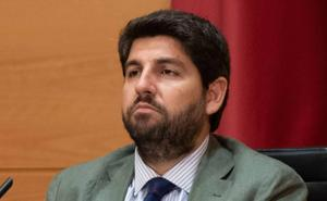 López Miras espera un acuerdo «rápido» porque «nada importante» separa a Cs y Vox