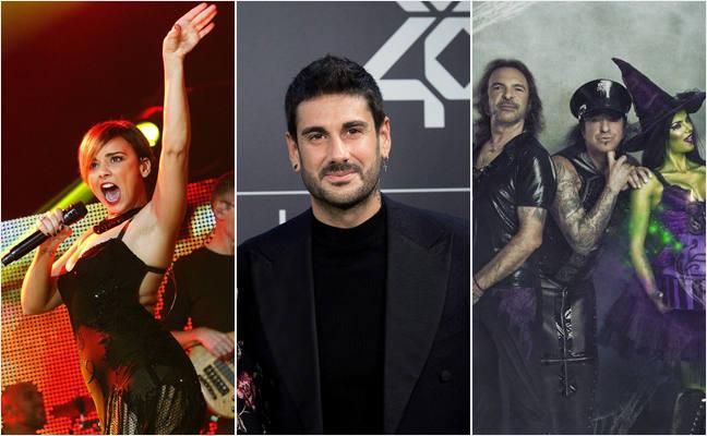 Chenoa, Melendi y Mago de Oz actuarán en las fiestas de Molina de Segura