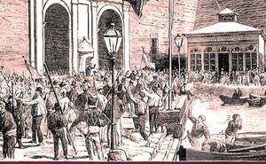 Cartagena, sede del Gobierno Provisional de la República Federal Española