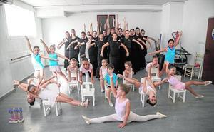 La escuela de baile de Carmen Baños compite en Roma
