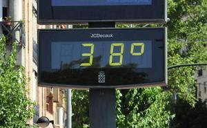 Alerta amarilla por calor en la Vega del Segura y Noroeste