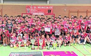 El CD Murcia clausura un gran año
