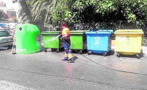 Un ecoparque en Abarán para el lavado de contenedores
