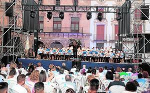 Música cofrade en el concierto del Paso Azul
