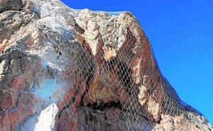La Comunidad reforzará laderas del Valle de Ricote para acabar con la caída de rocas