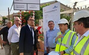 La renovación de la red de saneamiento de la Era Alta acabará antes de septiembre