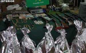 Cae una peligrosa banda criminal dedicada al tráfico de drogas en la Región