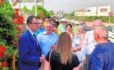 Las obras para evitar inundaciones en Era Alta acabarán en septiembre