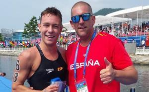El nadador cartagenero Alberto Martínez, a Tokio 2020