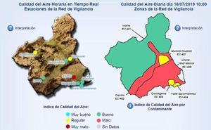 El Ayuntamiento de Cartagena activa el protocolo de contaminación en La Aljorra