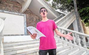 Adrián Quiñones: «Creo que tengo carisma»