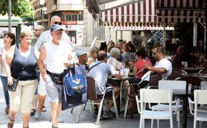 Los afiliados en turismo a la Seguridad Social en la Región crecen un 6% en junio
