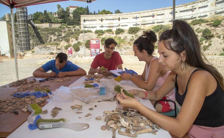 El Anfiteatro de Cartagena engancha a los voluntarios