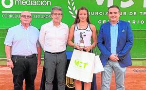Homenaje a Geerlings del Murcia Club de Tenis y la Federación Española