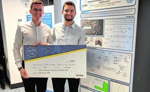 Un proyecto de alumnos de la UPCT para ahorrar energía gana un premio