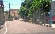 Remodelan el camino de acceso a La Loma