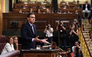 Pedro Sánchez alude a una política hídrica basada en la «autosuficiencia de las cuencas»