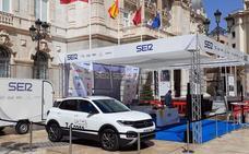 El nuevo Volkswagen T-Cross, junto a la SER en La Radio al Sol