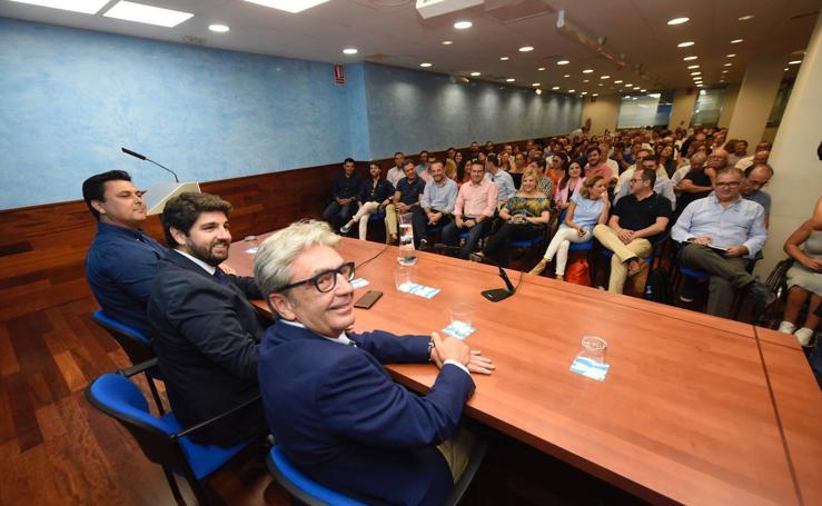 El PP destaca que López Miras ha formado «un Gobierno capaz bajo el único color de la Región»