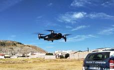 La Policía Local de Cehegín incorpora un dron para detectar plantaciones de cannabis