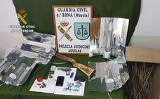 Desmantelan un punto de venta de drogas en Puerto Lumbreras