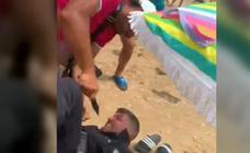 Apuñalan a un Policía de Punta Umbría en una operación contra la venta ambulante
