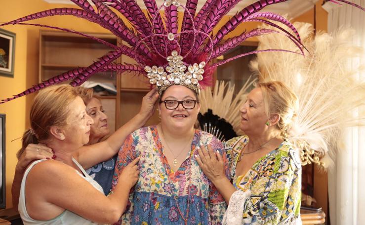 Una lorquina con síndrome de Down será Musa del Carnaval de Águilas