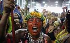 Los indígenas de Brasil, en pie de guerra