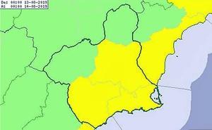 Alerta por tormentas durante la madrugada en toda la Región excepto en el Noroeste y el Altiplano