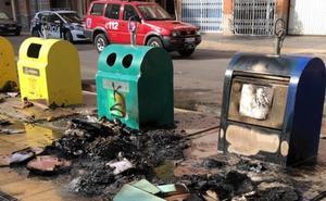 Pillan al responsable de la quema de un contenedor en Cieza