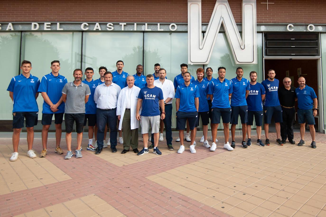 Primer día de trabajo del UCAM Murcia CB