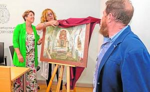 El cartel de la romería de San Ginés reivindica un monasterio restaurado