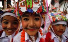 Festival de las vacas en Nepal