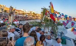 Cabo de Palos honra a la Virgen del Carmen