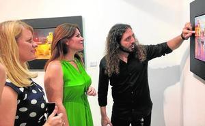 Carlos Montero expone 'Aqua' en la Casa del Mar de Mazarrón