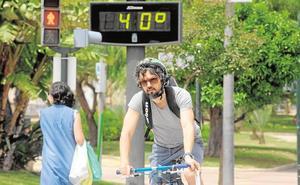 Los termómetros de la Región rozarán los 40 grados este domingo