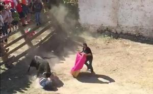 Herido un hombre de Molina al sufrir una cogida en los encierros de Letur