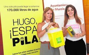 La campaña 'Espapila' logra aumentar un 38% el reciclaje de pilas en Murcia