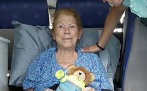 Fallece Francisca Martínez, la mujer que viajó desde Murcia para morir en su tierra