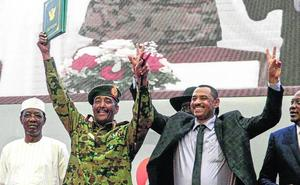 Sudán abre el camino de la transición