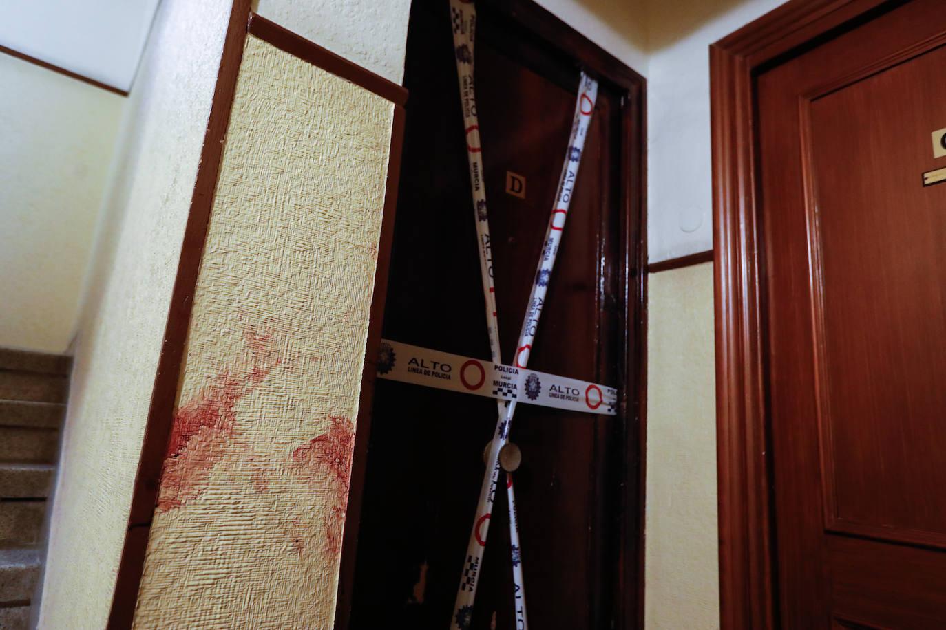 Detenido por agredir a su madre con un cuchillo en una vivienda de Murcia